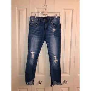 Nordstrom rack ripped jeans!